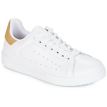 Pantofi Femei Pantofi sport Casual Yurban SATURNA Alb / Auriu