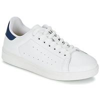 Încăltăminte Bărbați Pantofi sport Casual Yurban SATURNA Alb / Bleumarin