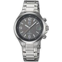 Ceasuri & Bijuterii Bărbați Ceasuri Analogice Ett Eco Tech Time EGS-11035-31M, Quartz, 40mm, 5ATM Argintiu