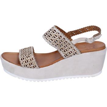 Pantofi Femei Sandale  Femme Plus BJ892 Bej