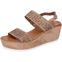 Pantofi Femei Sandale  Femme Plus BJ895 Maro