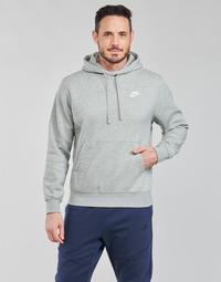 Îmbracaminte Bărbați Hanorace  Nike NIKE SPORTSWEAR CLUB FLEECE Gri / Alb