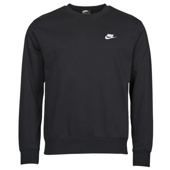 Îmbracaminte Bărbați Hanorace  Nike NIKE SPORTSWEAR CLUB FLEECE Negru / Alb