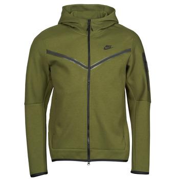 Îmbracaminte Bărbați Bluze îmbrăcăminte sport  Nike NIKE SPORTSWEAR TECH FLEECE Verde / Negru