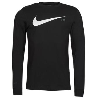 Îmbracaminte Bărbați Tricouri cu mânecă lungă  Nike M NSW TEE LS GRX TEE Negru