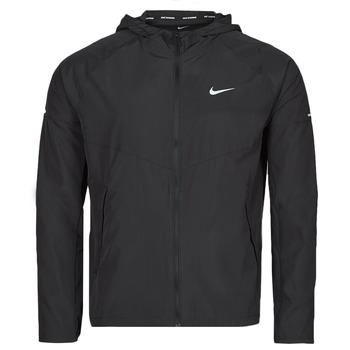 Îmbracaminte Bărbați Jacheta de vânt Nike M NK RPL MILER JKT Negru / Argintiu