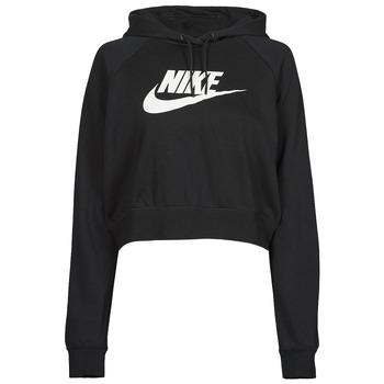 Îmbracaminte Femei Hanorace  Nike NIKE SPORTSWEAR ESSENTIAL Negru / Alb