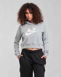 Îmbracaminte Femei Hanorace  Nike NIKE SPORTSWEAR ESSENTIAL Gri / Alb
