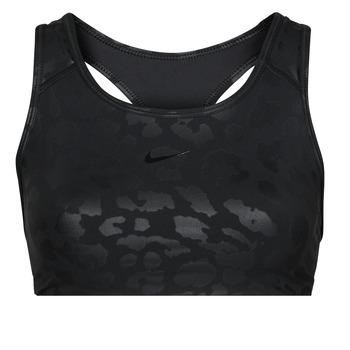 Îmbracaminte Femei Bustiere sport Nike W NP DF SWSH LEPARD SHINE BRA Negru