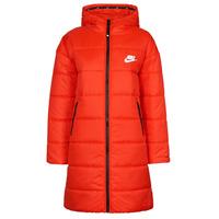 Îmbracaminte Femei Geci Nike W NSW TF RPL CLASSIC HD PARKA Roșu / Negru / Alb