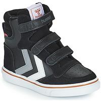 Pantofi Copii Pantofi sport stil gheata Hummel STADIL PRO JR Negru / Gri