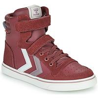 Pantofi Fete Pantofi sport stil gheata Hummel SLIMMER STADIL JR Violet