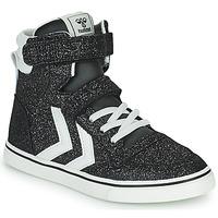 Pantofi Copii Pantofi sport stil gheata Hummel SLIMMER STADIL GLITTER JR Argintiu