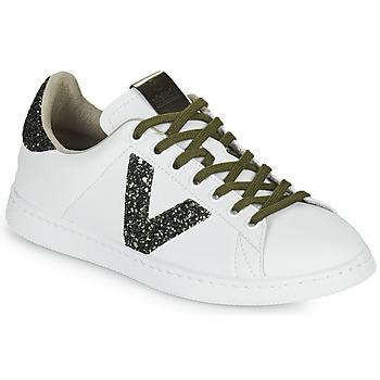 Pantofi Femei Pantofi sport Casual Victoria TENIS PIEL Alb / Kaki
