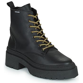 Pantofi Femei Ghete Victoria CIELO PIEL VEGANA Negru