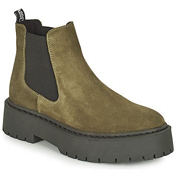 Pantofi Femei Ghete Steve Madden VEERLY Kaki