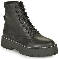 Pantofi Femei Ghete Steve Madden SKYLAR Negru