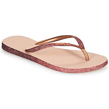 Pantofi Femei  Flip-Flops Havaianas SLIM SPARKLE II Roz