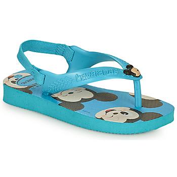 Pantofi Băieți  Flip-Flops Havaianas BABY DISNEY CLASSICS II Albastru