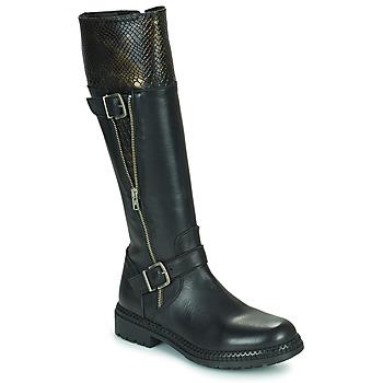 Pantofi Femei Cizme casual Regard CACHY Negru
