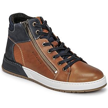 Pantofi Băieți Pantofi sport Casual Bullboxer AOF506COGN Maro / Albastru