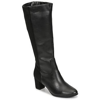 Pantofi Femei Cizme casual Spot on F50366-BLACK Negru
