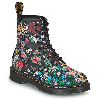 Pantofi Femei Ghete Dr Martens 1460 PASCAL Negru / Multicolor