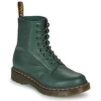 Pantofi Femei Ghete Dr Martens 1460 PASCAL Verde