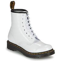 Pantofi Femei Ghete Dr Martens 1460 W Alb