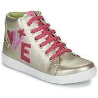 Pantofi Fete Pantofi sport stil gheata Agatha Ruiz de la Prada FLOW Bej / Roz