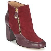 Pantofi Femei Botine Fericelli CHANTEVO Roșu-bordeaux