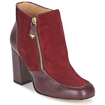Pantofi Femei Botine Fericelli CHANTEVO Bordo