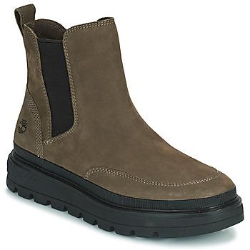Pantofi Femei Ghete Timberland RAY CITY CHELSEA Kaki