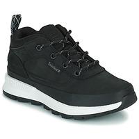 Pantofi Copii Pantofi sport stil gheata Timberland FIELD TREKKER LOW Negru