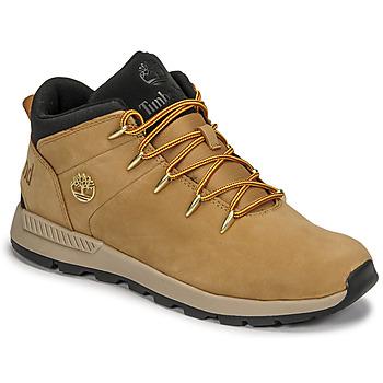 Pantofi Copii Pantofi sport Casual Timberland SPRINT TREKKER MID Galben-grâu