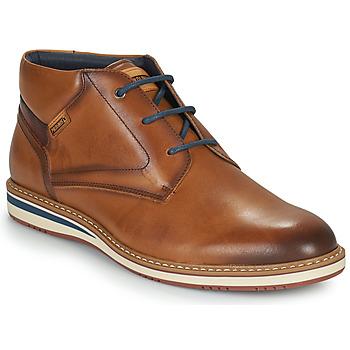 Pantofi Bărbați Ghete Pikolinos AVILA Maro