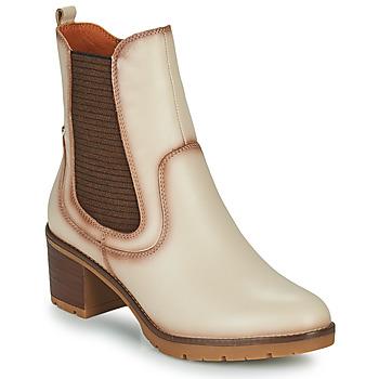 Pantofi Femei Botine Pikolinos LLANES Alb fildeș