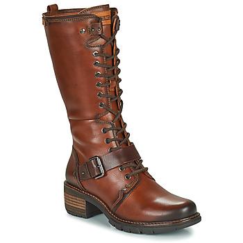 Pantofi Femei Cizme casual Pikolinos SAN SEBASTIA Maro
