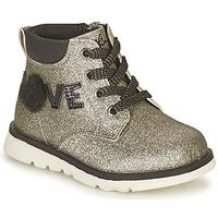 Pantofi Fete Ghete Chicco FLORINA Argintiu