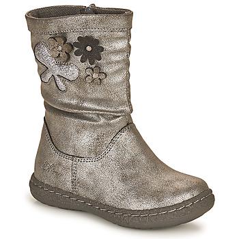 Pantofi Fete Cizme casual Chicco CAROL Argintiu