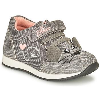 Pantofi Fete Pantofi sport Casual Chicco FLEXY Argintiu