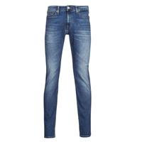 Îmbracaminte Bărbați Jeans slim Tommy Jeans SCANTON SLIM AE136 MBS Albastru / Medium