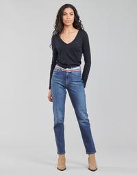Îmbracaminte Femei Jeans drepti Tommy Hilfiger NEW CLASSIC STRAIGHT HW A LEA Albastru / Medium