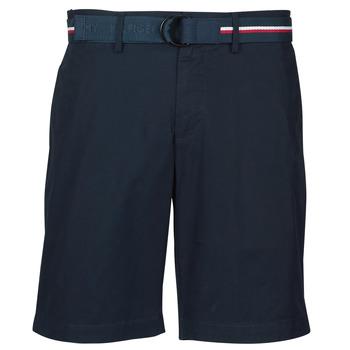 Îmbracaminte Bărbați Pantaloni scurti și Bermuda Tommy Hilfiger BROOKLYN LIGHT TWILL Albastru