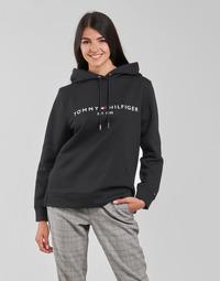 Îmbracaminte Femei Hanorace  Tommy Hilfiger HERITAGE HILFIGER HOODIE LS Negru
