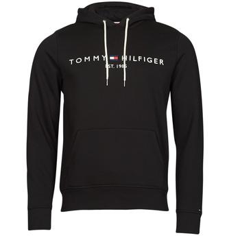 Îmbracaminte Bărbați Hanorace  Tommy Hilfiger TOMMY LOGO HOODY Negru