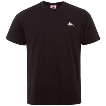 Îmbracaminte Bărbați Tricouri mânecă scurtă Kappa Iljamor T-Shirt Noir