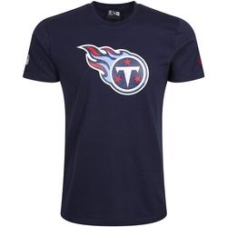 Îmbracaminte Bărbați Tricouri mânecă scurtă New-Era Tennessee Titans Team Logo Albastru
