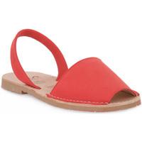 Pantofi Femei Sandale  Rio Menorca RIA MENORCA ROJO NABOUK Rosso