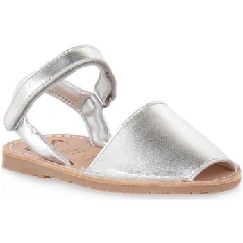 Pantofi Fete Sandale  Rio Menorca RIA MENORCA METALIZADO PLATA Grigio